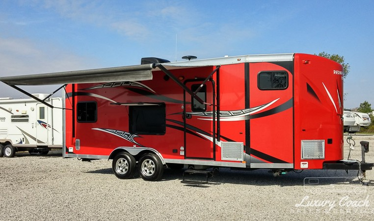 Forest River Toy Hauler >> 2013 Forest River Work and Play 21VFB ~ Luxury Coach Sales & Service