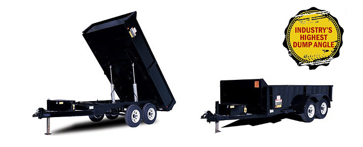 Forest River Hydraulic Dump Trailer HDL6814TA5