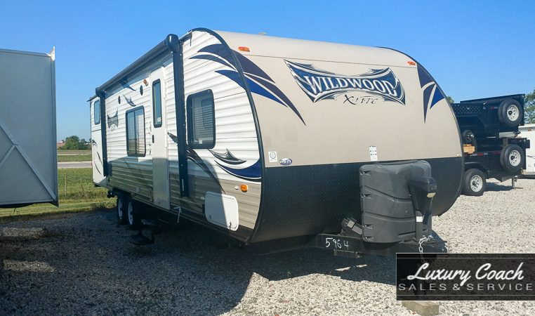 2014 Forest River Wildwood 281QBXL at Luxury Coach