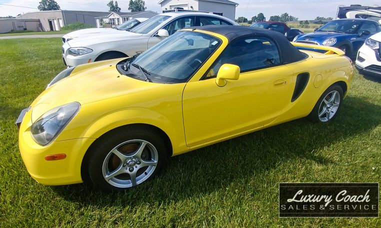 2001 Toyota MR2 Spyder at Luxury Coach