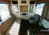 View of the Conference Room Side 2 of 1985 MCI 96-A3 at Luxury Coach
