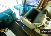View of the Passengers Chair of 1985 MCI 96-A3 at Luxury Coach