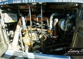 View of Engine Bay of 1985 MCI 96-A3 at Luxury Coach