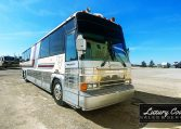 View of Passenger Side Front of 1985 MCI 96-A3 at Luxury Coach