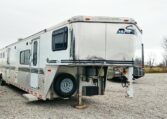 Another View of the Goosneck in a 1999 Sundowner Horse Trailer at Luxury Coach