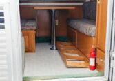 View of the Main Entry in a 1999 Sundowner Horse Trailer at Luxury Coach